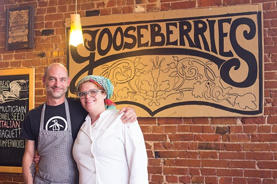 Co-owners Ross Lessor and Kim Bond.