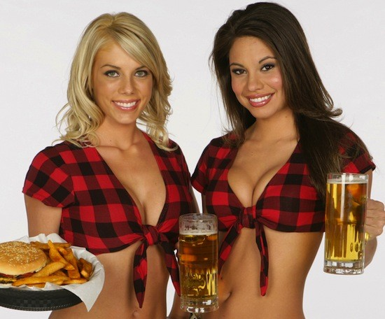 COURTESY BREASTAURANT UNIFORMS