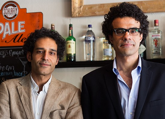 Co-owners Muhammad Alhawagri and Sherif Nasser.