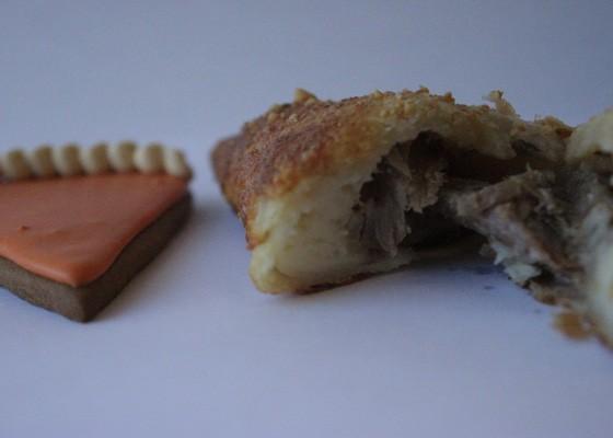 The turkey dinner hand pie. | Nancy Stiles