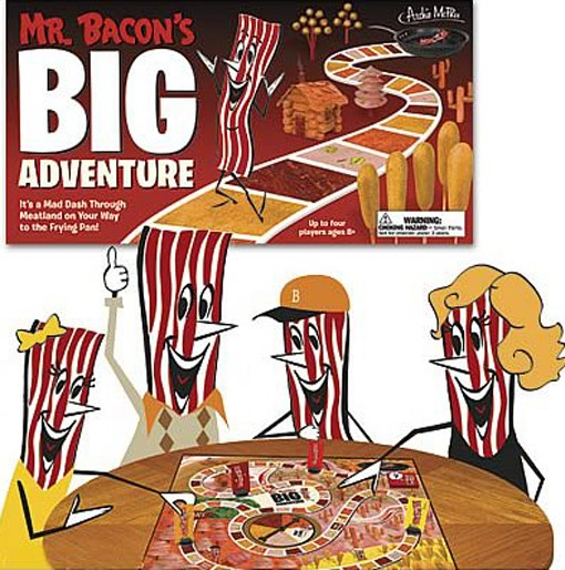 Fun for the whole family. Your on-again, off-again vegetarian sibling may want to sit this game out.