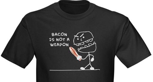 Make bacon, not war.