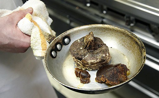 Beef Burgundy in raw form. See more photos from Molly's in our slideshow. - PHOTO: STEVE TRUESDELL