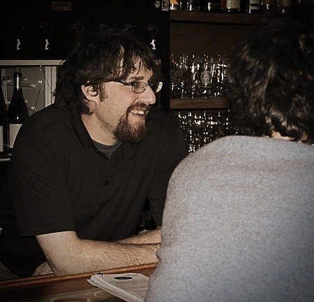Jeff Stettner, owner of 33 Wine Shop & Tasting Bar in Lafayette Square - TOM CARLSON