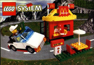 You could get away with a lot more in 1999 than you can now. Did anyone flinch back then when Lego introduced a drive-thru? Of course not. It was safe back then. As safe as waving a $100 bill from a convertible in a drive-thru lane. - PEERON.COM
