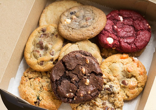 An assortment of Hot Box Cookies' sweets. | Photos by Mabel Suen
