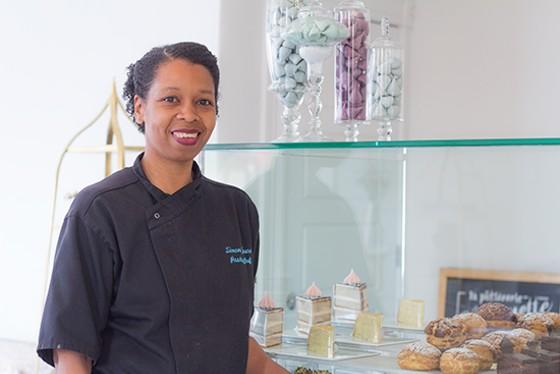 Simone Faure, owner of La Patisserie Chouquette. | Mabel Suen