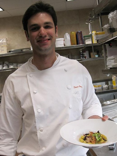 Steven Caravelli, Chef de Cuisine at Sleek - ROBIN WHEELER