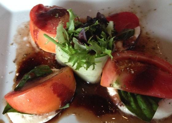Caprese salad. | Nancy Stiles