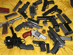 Probably enough guns for a trip to Schnucks - IMAGE VIA