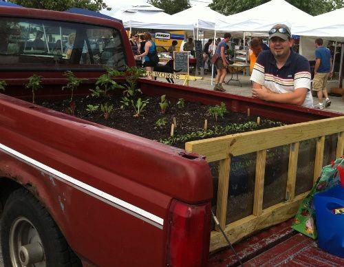 Brian DeSmet and his farm on wheels - HOLLY FANN