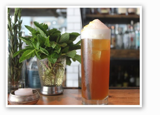 """The Libertine's """"Fear & Loathing,"""" a cocktail fit for Dr. Thompson. 