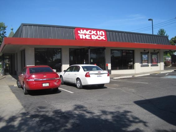 The Jack in the Box restaurant in McKinley Heights - IAN FROEB