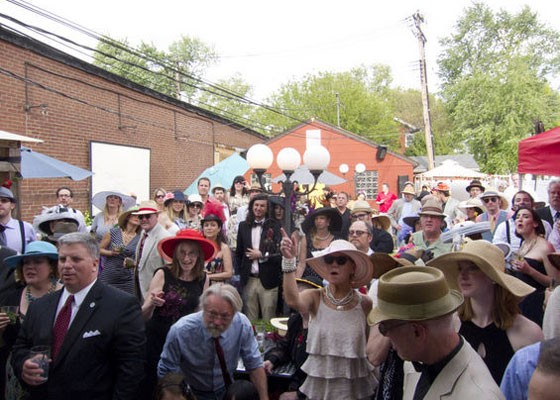 The annual Kentucky Derby party at the Royale. | Brian Villa