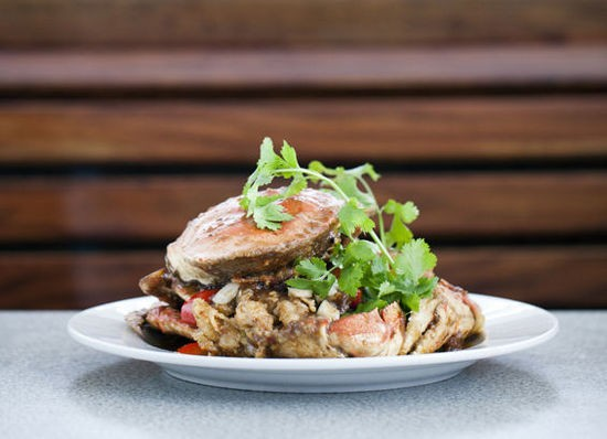 The Dungeness crab with tamarind at St. Louis Pho - JENNIFER SILVERBERG