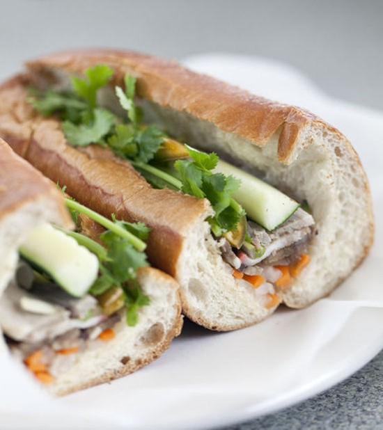 The banh mi dac biet at St. Louis Pho - JENNIFER SILVERBERG