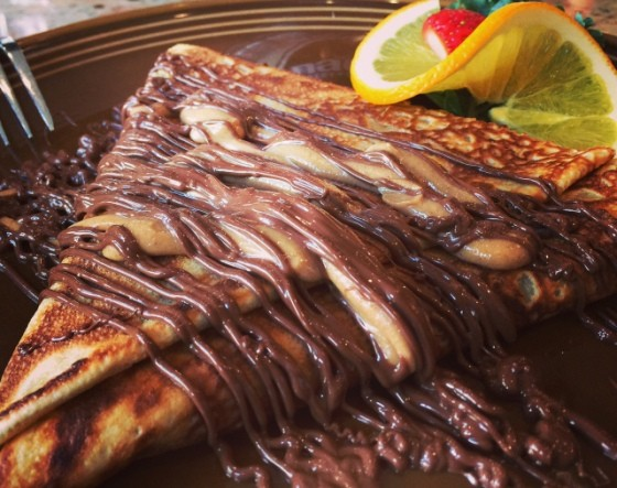 NUTELLA CREPE AT NADOZ BAKERY AND CAFE | STEVE BECKER