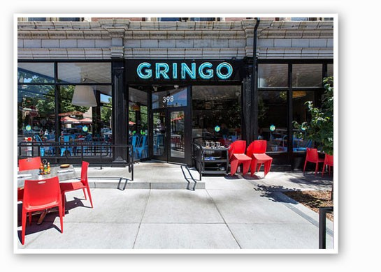 If only it was warm enough to enjoy the patio.   Jennifer Silverberg