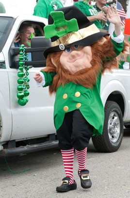 From last year's parade. - JON GITCHOFF