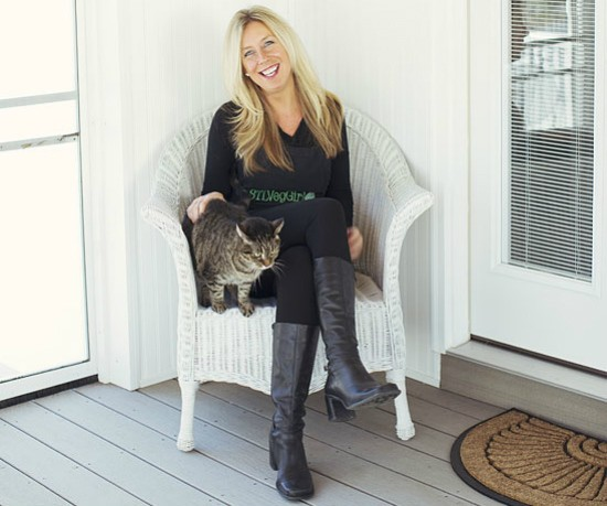 STL VegGirl founder Caryn Dugan successfully promotes her plant-based brand via Twitter. - JENNIFER SILVERBERG