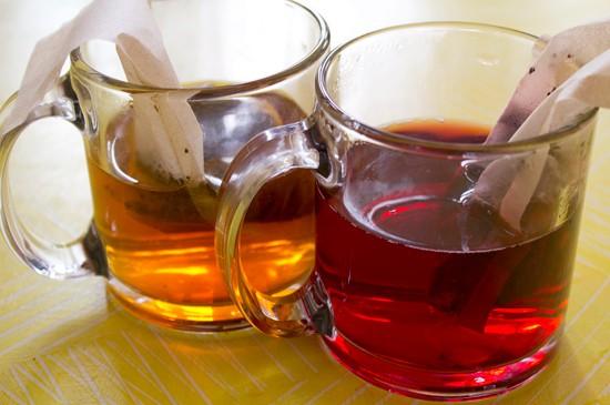Chai and hibiscus ReTrailer teas. - MABEL SUEN