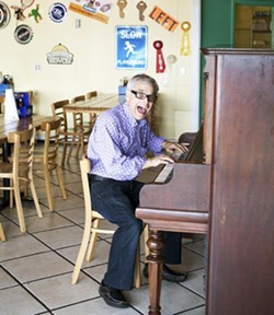 Plush Pig owner Larry Lampert, in happier times. - JENNIFER SILVERBERG