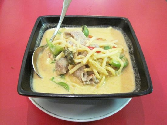Red curry at Zen Thai & Japanese Cuisine - IAN FROEB