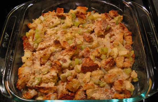 Easy on the fenugreek, fellow stuffing enthusiasts -- a little goes a long way! - KRISTIE MCCLANAHAN