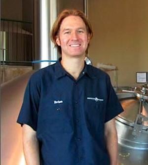 Brewmaster Brian Faivre