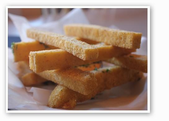 Polenta fries at Mangia.   Nancy Stiles