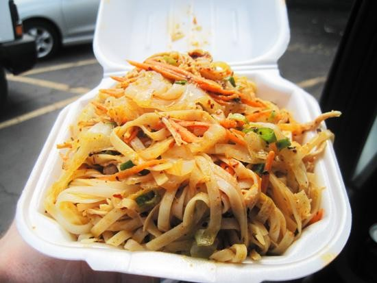"The ""House Spicy Noodles"" at Famous Szechuan Pavilion - IAN FROEB"
