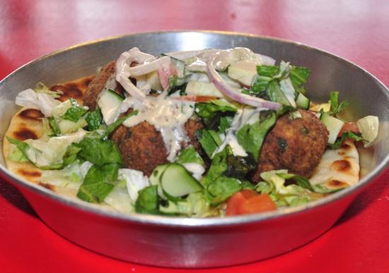 Falafel at the Kitchen Sink. - TARA MAHADEVAN