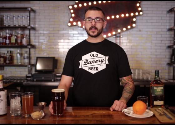Rory Morse of Old Bakery Beer.   Charles Thomas
