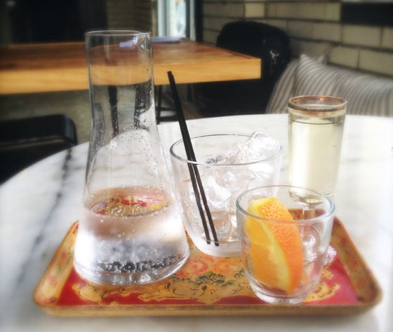 Olio's beautiful vermouth service. | Patrick J. Hurley