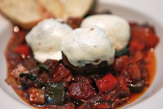 Who needs meat with veggie meatballs this good? - LUCAS PARK GRILLE