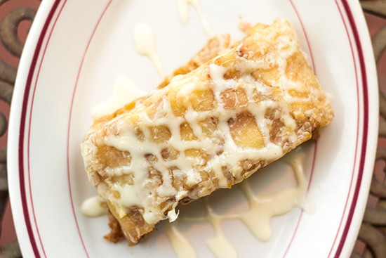 The Feasting Fox's apple strudel. | Photos by Mabel Suen