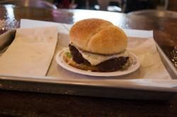 A classic hamburger at The Shack. - CAILLIN MURRAY