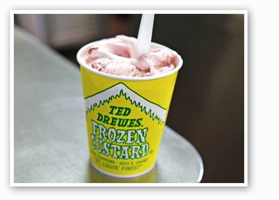 The iconic Ted Drewes.   Source: Facebook