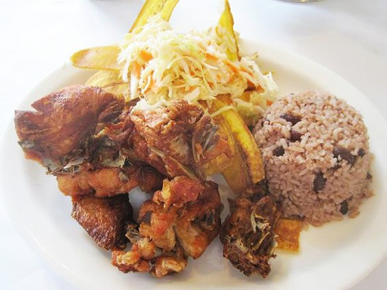 The chicharron de pollo at Fritanga, an example of non-Mexican Latin American cuisine in St. Louis. - IAN FROEB