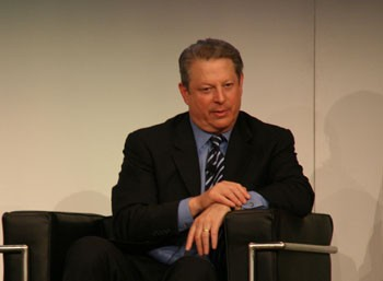 Al Gore is super serial about veganism, guys. | Simone Brunozzi