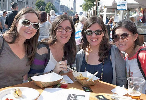 Taste of St. Louis: One of many food events from now through September. - SARAH RUSNAK