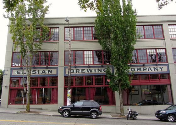 Elysian is a Seattle-based craft brewery. | Richie Diesterheft