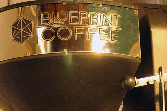 The Blueprint roaster. | Nancy Stiles