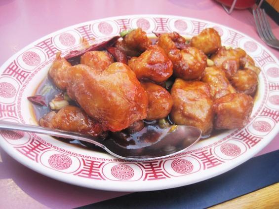 The General Tso's chicken at Shu Feng - IAN FROEB