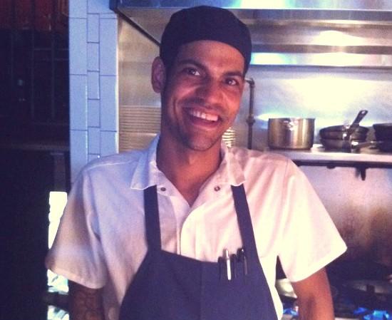 Matthew Daughaday, Executive Chef at Taste. - HOLLY FANN
