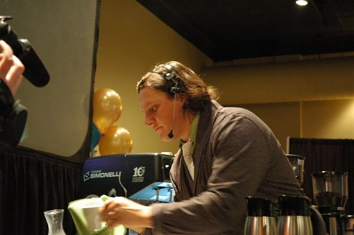 Mike Marquard of Kaldi's Coffee - PHOTO COURTESY KALDI'S COFFEE