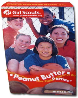 Why are these girls so cheerful? Must be the partially hydrogenated palm kernel, and/or cottonseed oils.