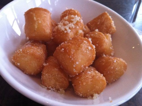 Gimme some of your tots...truffled tater tots - HOLLY FANN