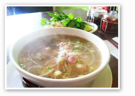 Pho for days.   Ian Froeb