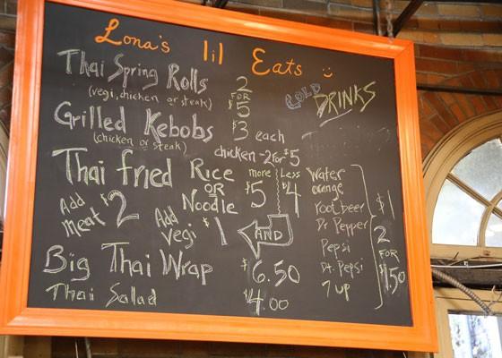 Offerings at Lona's in Soulard. | Paul Sableman